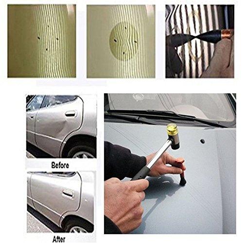 Gs Diy Paintless Dent Repair Kit Metal Tap Down Pen With 9