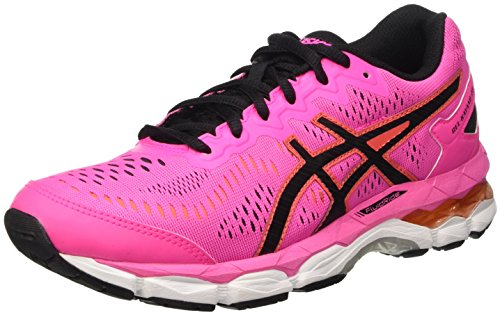 Asics Gel-Kayano 23 Gs, Zapatos Deportivos Unisex Niños Multicolor (Hot Pink/Black/White)