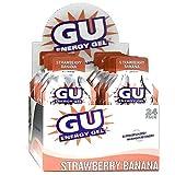 Gu Energy Gel-dietary Supplements, Strawberry Banana 24 Ea (Pack of 3)