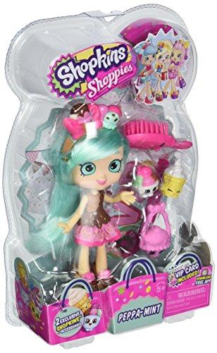 Moose Toys Shopkins Shoppies S2 Doll Peppa-Mint