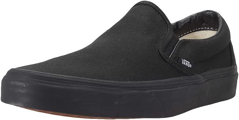 حذاء سهل الارتداء من فانز للجنسين - اسود