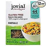 Jovial Farfalle,Og1,Brown Rice 12 oz (Pack of 12)