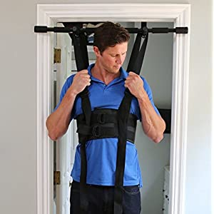 Sit and Decompress Back Stretcher Spinal Decompression Back Traction Upright Inversion Table Made in USA Chiropractor…