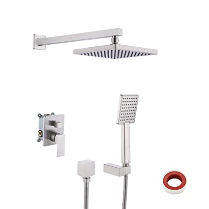 Fine Brass Handheld Shower Holder Support Rack With Hose Connector Wall Elbow Unit Spout Water Inlet Angle Valve Bathroom Fixtures Shower Equipment