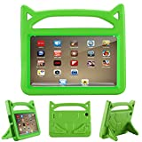 PC Hardware : All-New F i r e HD 8 Kids Case - Riaour Light Weight Shock Proof Handle Friendly Stand Kid-Proof Case for All New A m a z o n F i r e 8 inch Display Tablet Cover(2016&2017 Release) (Green)