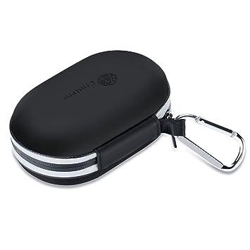 Auriculares inalámbricos universales Bluetooth Carcasa de Carga Recargable Caja de Almacenamiento Bolsa Protectora Estuche portátil