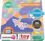 OjO Shape Factory Creative Kids Game - Boost Math, Counting and Creative Skills with Our Logic and Matching Ga