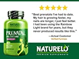 NATURELO Prenatal Multivitamin with DHA, Natural