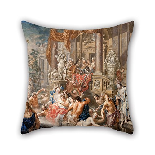 Diy Minnie Mouse Costume For Tweens (Slimmingpiggy The Oil Painting Johann Georg Platzer - Fountain Scene In Front Of A Palace Pillow Shams Of ,20 X 20 Inches / 50 By 50 Cm Decoration,gift For Home Office,bar,boy Friend,car,kitchen,ben)