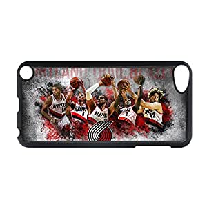 Cute Back Phone Cover For Women For Apple Ipod Touch 5 With Portland Trail Blazers Choose Design 1