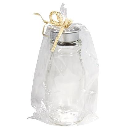 Rayher 56332000 Botella de Cristal con portavelas, 5,5 cm à ...