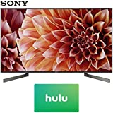 Sony XBR49X900F 49-Inch 4K Ultra HD Smart LED TV (2018 Model) with Hulu $25 Gift Card