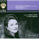 Songs By Mahler, Handel and Peter Lieberson