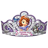 Sofia The First Party Tiaras, 8 Count