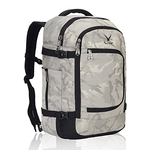 54ae033fe106 Hynes Eagle Travel Backpack 40L Flight Approved Carry on - Import It All