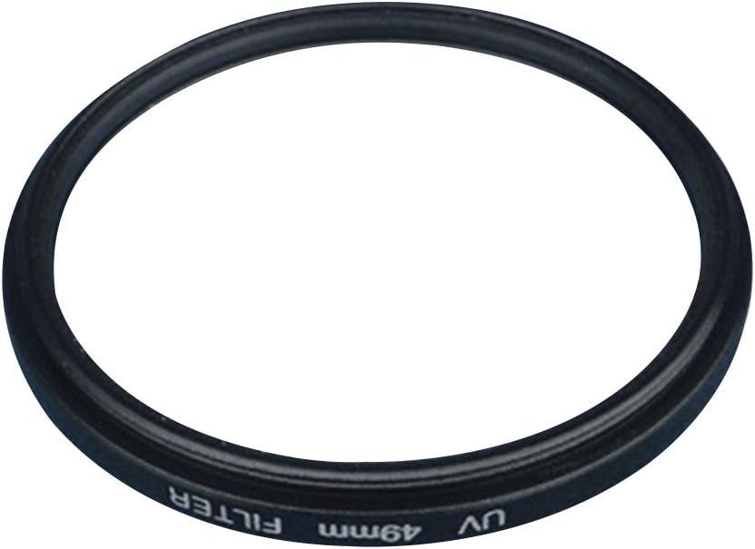 LEDMOMO Photography UV Filter Black Professional Optical UV Filter Camera Lenses Protector Black Frame 49MM