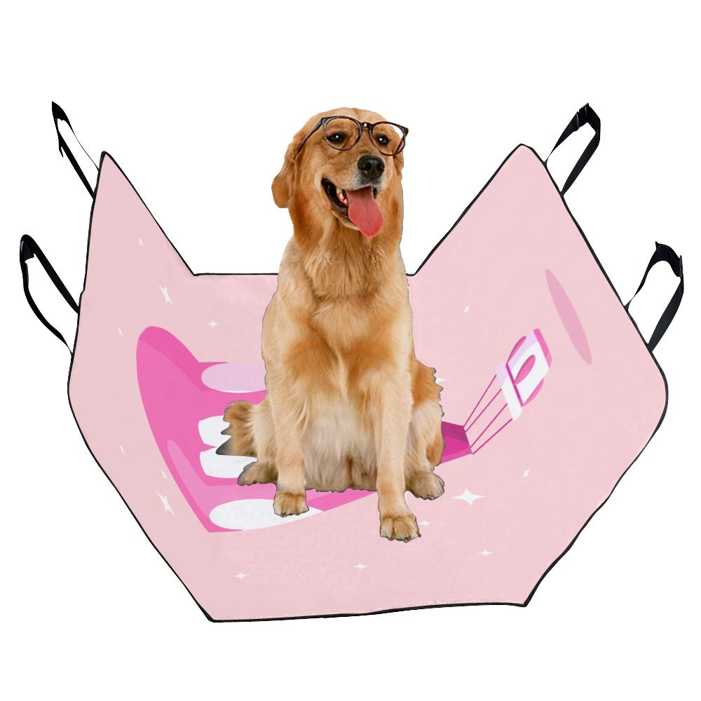 VNASKL Dog Seat Cover Custom Hot Air Balloon Basket Heart Isolated Printing Car Seat Covers for Dogs 100/% Waterproof Nonslip Durable Soft Pet Car Seat Dog Car Hammock for Cars Trucks SUV