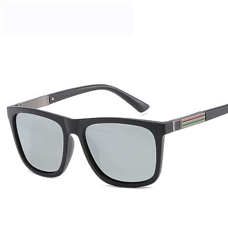 Shisky Gafas Deportivas, Gafas de Sol polarizadas de los Hombres Brillantes Color Gafas de Sol