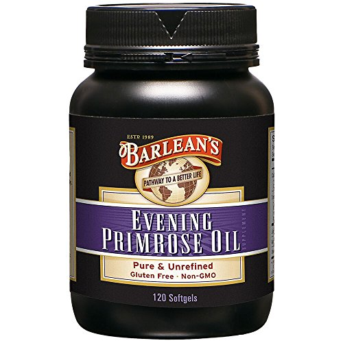 Barlean's Organic Oils Organic Evening Primrose Oil, 120 softgels/1300 mg ea. Bottle ()