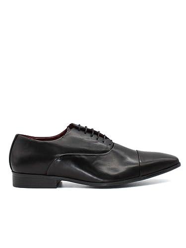 411309c6fdd6 Kebello Chaussures Richelieus Homme Noir  Amazon.fr  Chaussures et Sacs
