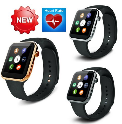 Best to BuyMany health care funcation New Smartwatch A9 Bluetooth Smart watch for Apple iPhone &