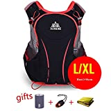 AONIJIE Hydration Backpack Running Vest Pack 3 Women Men Outdoor Sports Hiking Climbing Bicycling,L/XL For Sale