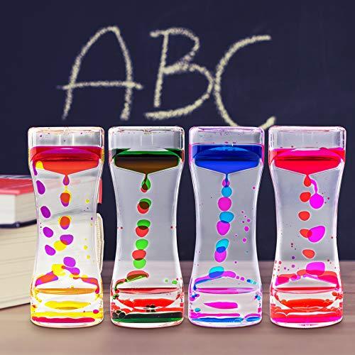 Super Z Outlet Liquid Motion Bubbler for Sensory Play, Fidget Toy, Children Activity, Desk Top, Assorted Colors (1 Piece)