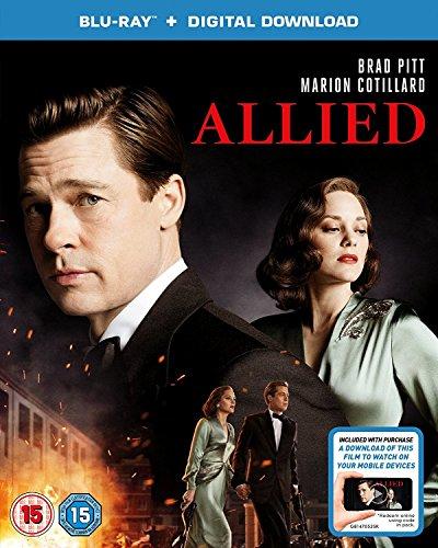 Allied  Blu Ray   2016