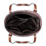 S-ZONE Vintage Genuine Leather Tote Shoulder Bag