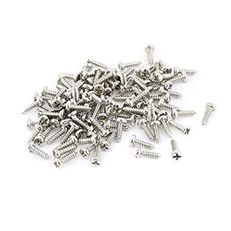 eDealMax 100 piezas de M1.4 x 5 mm de Acero inoxidable de ...