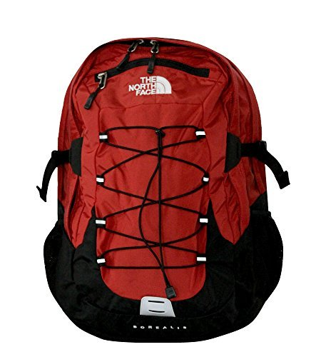 The North Face Men's Borealis Backpack (RTO- Red/Black) by The North Face