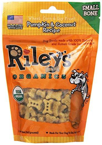 Riley's Organics Pumpkin and Coconut Bone, Small, 5 Oz.
