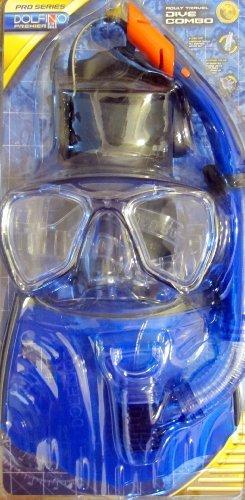 remier...Adult Travel Dive Combo...Mask, Snorkel & Fins....Assorted Colors (Leisure Pro Dive)