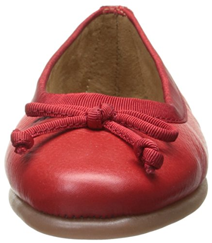 Aerosoles Damen Ballett flach Rotes Leder