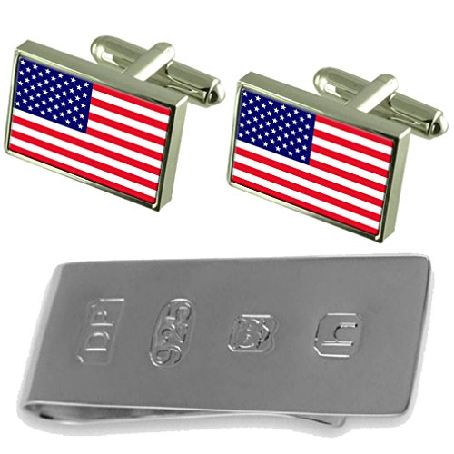 Cufflinks Bond Clip Flag amp; America Money Cufflinks Flag James America 0IfPqa