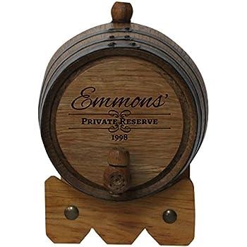 Amazoncom 2 Liter Whiskey Oak Barrel For Aging Golden Oak Barrel
