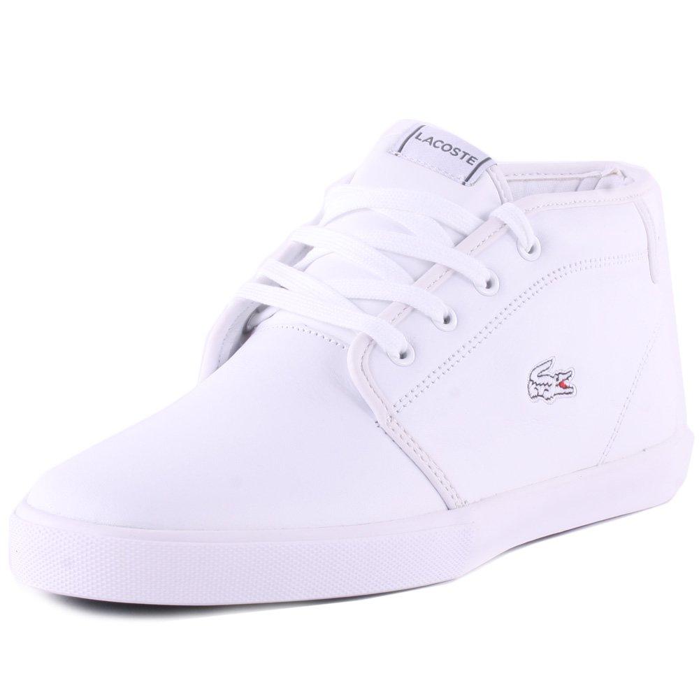 8b9f11551a24 Lacoste Homme Ampthill PR12 SPM Trainers, Blanc, 43: Amazon.fr: Chaussures  et Sacs