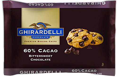 60% Cacao Bittersweet Chocolate - Ghirardelli 60% Cacao Bittersweet Chocolate Premium Baking Chips, 3 lb