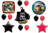 Jake and The Neverland Pirates Birthday Party Balloons Decorations Supplies, Health Care Stuffs