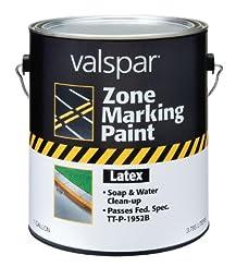 Valspar 24-137G Blue Latex Zone Marking Paint - 1 Gallon