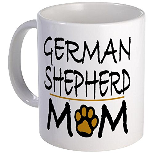 CafePress German Shepherd Mom Mug Unique Coffee Mug, Coffee Cup