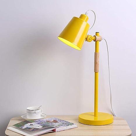 220V E27 Bombilla Lampara de mesa LED perilla switch 3 modos luz ...