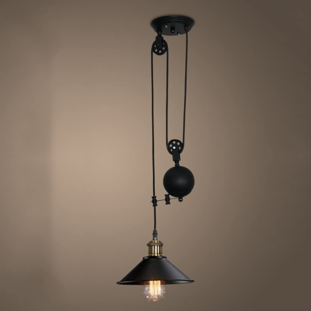 Simple small iron E27 bulb Chandeliers led lamps living room