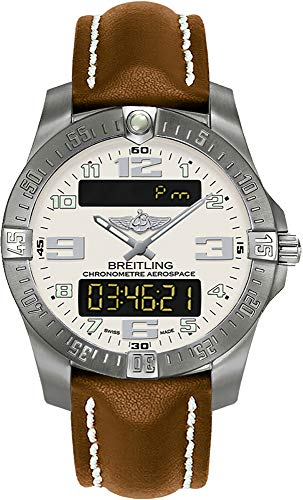 Alarm Watch Chronograph Titanium 100m - Breitling Professional Aerospace Evo Men's Watch E793637V/G817-437X