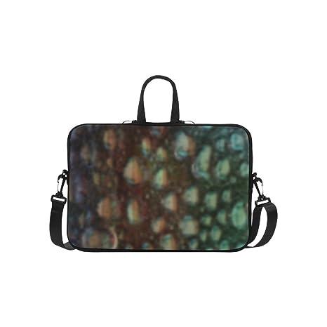 Personalizado bolsa de hombro nuevo TOP bolso para ordenador portátil Bolso de piel de lagarto 15