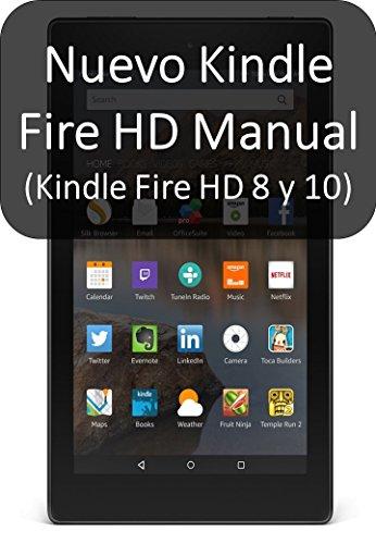 Amazon.com: Nuevo Kindle Fire HD Manual (Kindle Fire HD 8 y ...