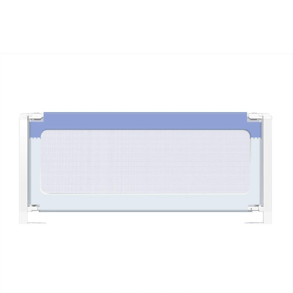 XIAOMEI,ベッドフェンス シングル折りたたみ式セーフティベッドレールと換気メッシュベッドガード、ベビーベッドレール、ベビーベッドレールグレーティング、落下防止 家庭、屋外で使用されます (Color : Blue standard, Size : 180cm) 180cm Blue standard B07TQYJ29R