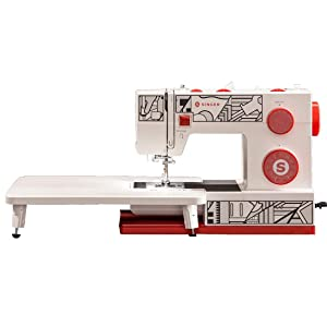 SINGER Cosplay Sewing Machine, Red and White