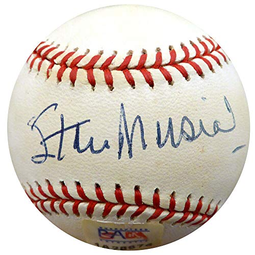 Stan Musial Autographed Signed Memorabilia Official MLB Baseball Cardinals PSA #1A28674