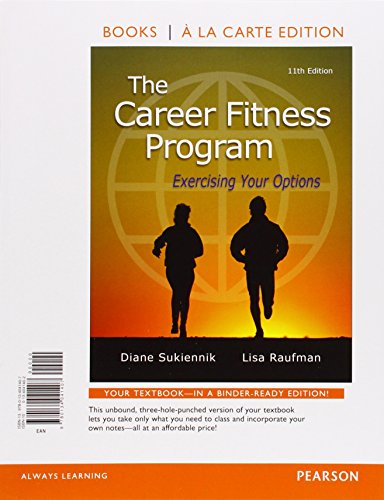 career fitness program edition 10 - 6